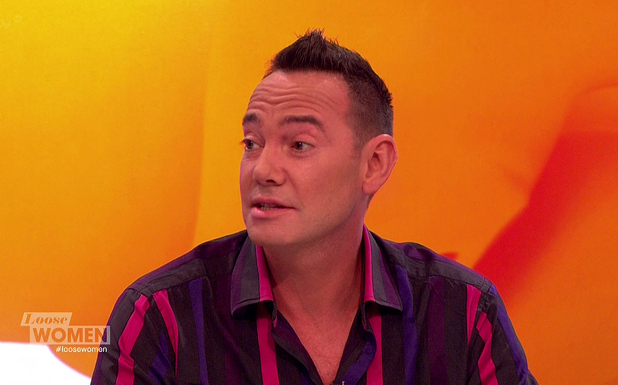 Loose Women - Craig Revel Horwood appears on 'Loose Women', to promote his new book 'Tales From The Dance Floor' - 23 September.