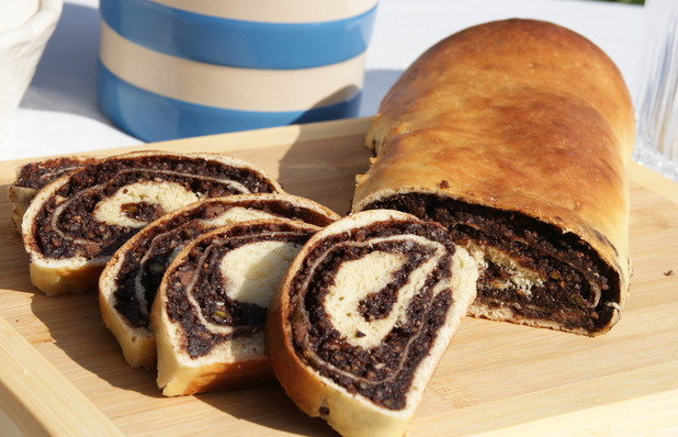 Ruth Clemens' chocolate nut roll