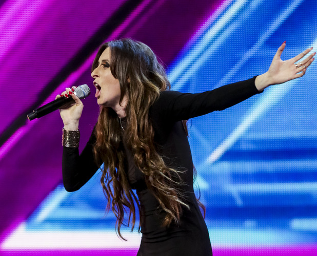 Raign auditions for X Factor at arenas stage, broadcast 20 September 2014