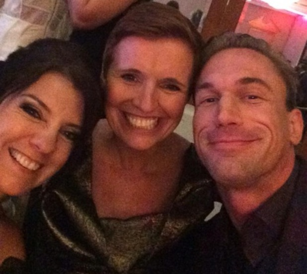 Dr Christian Jessen with co-stars, Dr Dawn Harper and Dr Pixie Mckenna at TV Choice Awards 8 September