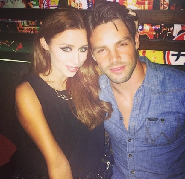 The Saturdays, Una and Ben Foden after Bournemouth date on Greatest Hits Live tour 22 September
