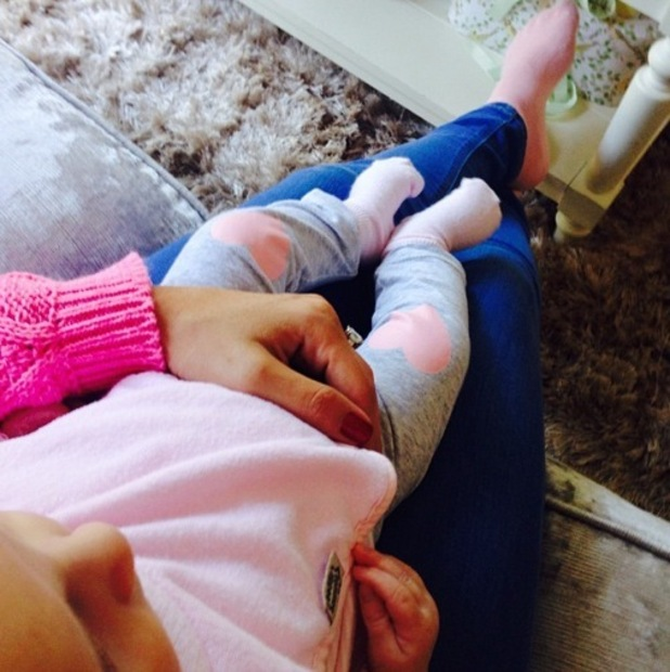 Billie Faiers shares a cute photo of herself and Nelly at home 24 September