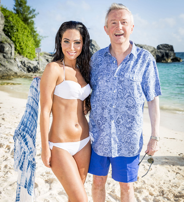 X Factor 2014 Judges' Houses: Tulisa and Louis Walsh in Bermuda
