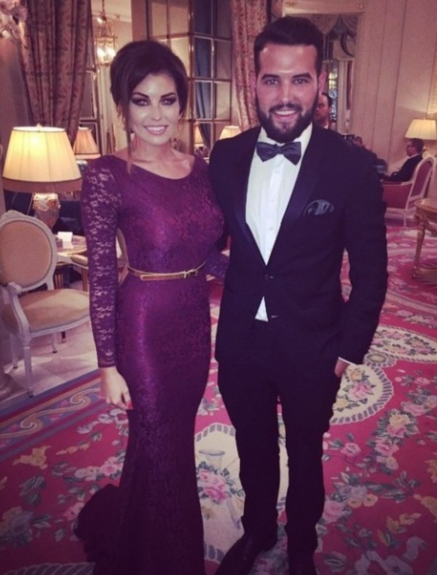 TOWIE's Jessica Wright and Ricky Rayment at Jess' friend's wedding ceremony - 20 September.