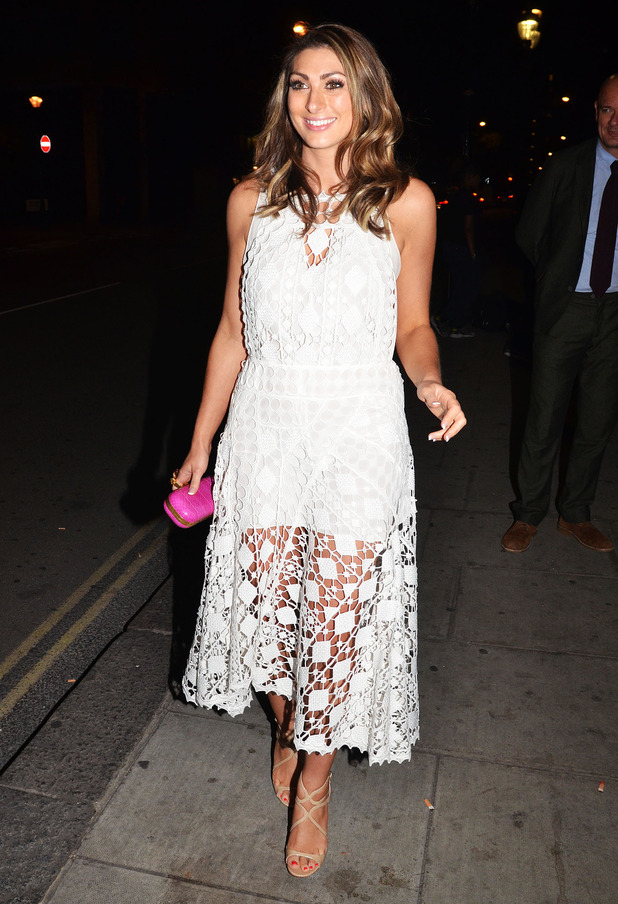 Luisa Zissman attends the National Reality TV Awards in London, England - 22 September 2014