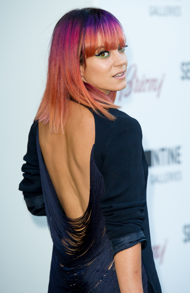Lily Allen attends the Serpentine Gallery Summer Party in London, England - 1 July 2014