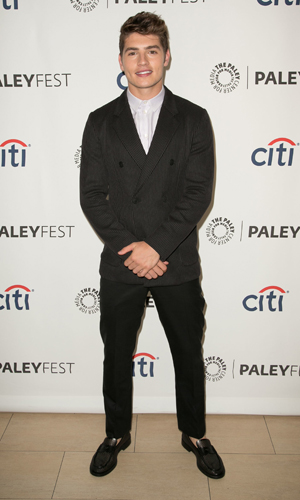 Gregg Sulkin,2014 PaleyFest Fall TV Previews: Fall season premiere of MTV's 'Faking It' at The Paley Center for Media - Arrivals, 2014