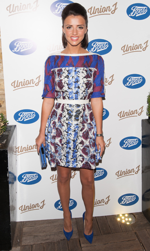 Lucy Mecklenburgh at Union J Fragrance launch party held at the Sanctum Soho Hotel, London - Arrivals, 24 September 2014
