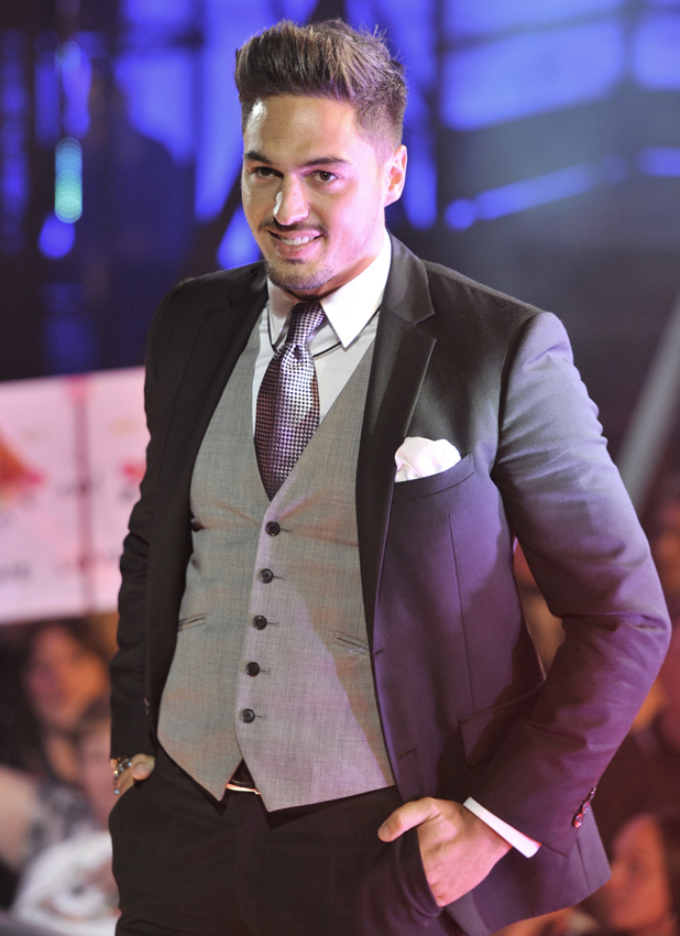 Mario Falcone, Celebrity Big Brother launch held at Elstree Studios, 2013