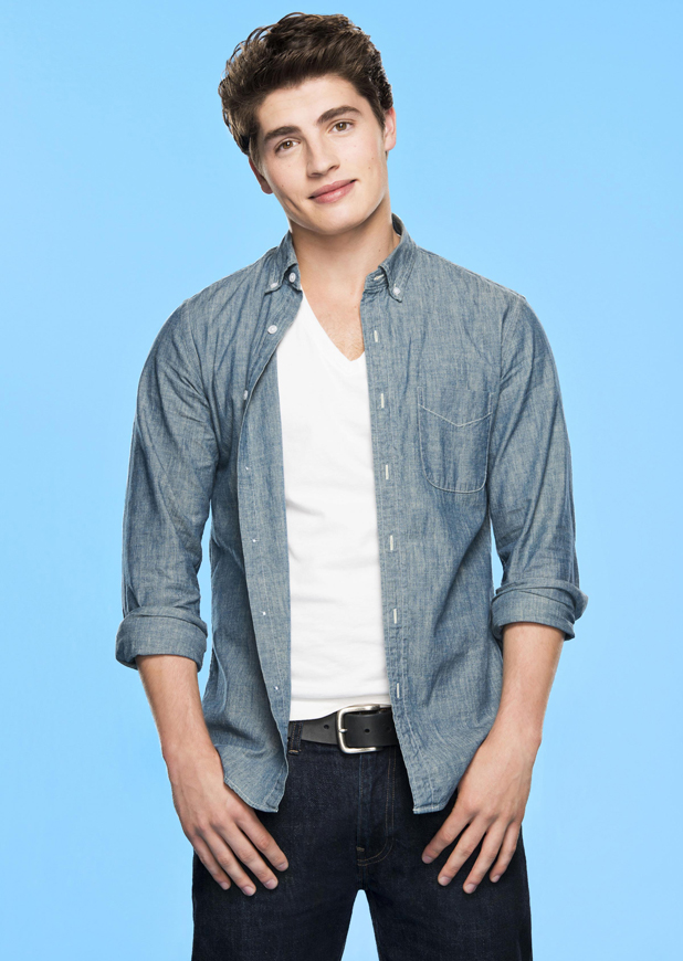 Gregg Sulkin as Liam Booker in Faking It, MTV publicity photo