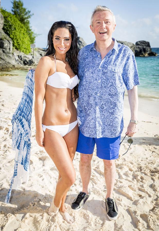X Factor 2014 Judges' Houses: Tulisa and Louis Walsh in Bermuda