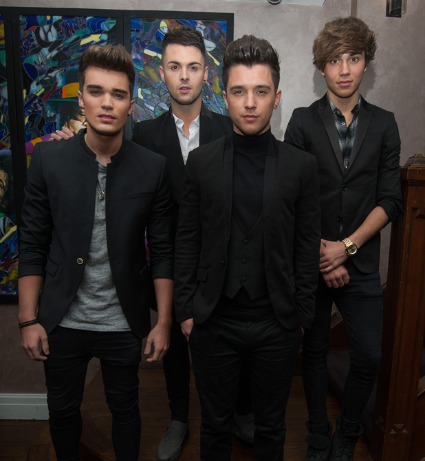 Union J Fragrance launch party held at the Sanctum Soho Hotel, London - Arrivals, 24 September 2014