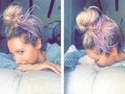 Ashley Tisdale debuts her lavender locks as show gets second series!