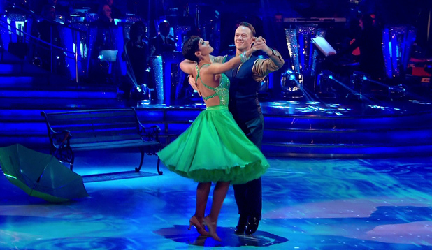Frankie Bridge performs first live show for Strictly Come Dancing, BBC One 27 September