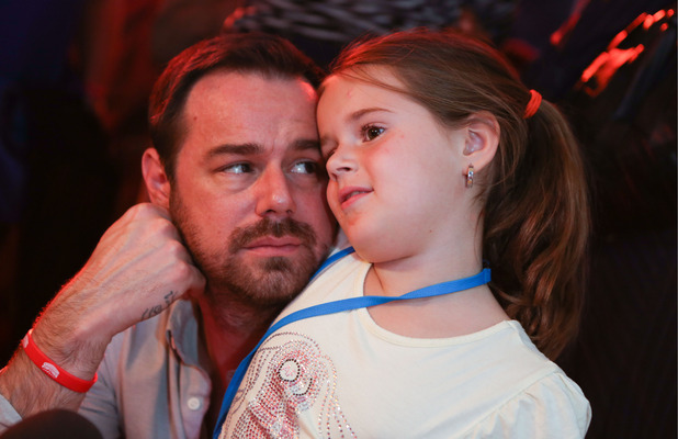 Danny Dyer and daughter Sunnie attend the Skylanders Trap Team launch at Royal Festival Hall, London, Britain - 05 Oct 2014