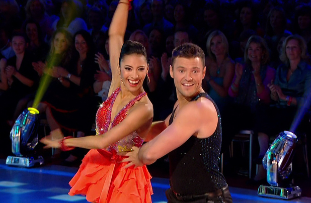 Mark Wright performing live on Strictly Come Dancing, BBC One 27 September