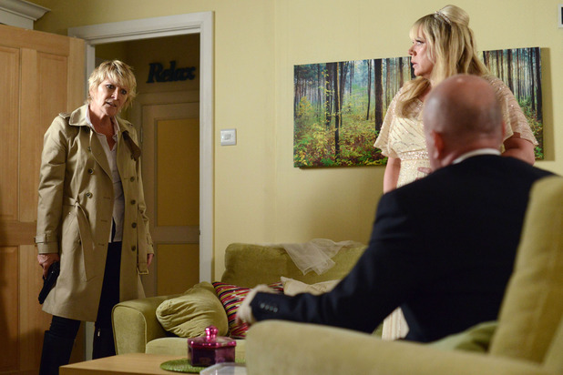 EastEnders, Shirley, Sharon and Phil confrontation, Thu 2 Oct