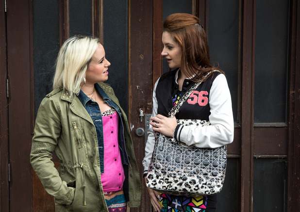 Corrie, Kylie meets up with Gemma, Wed 1 Oct