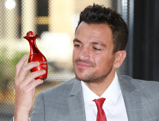 Peter Andre 'Scarlet' perfume launch, London, Britain - 02 Oct 2014