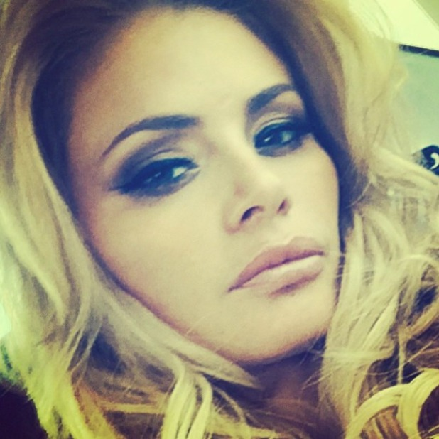 TOWIE's Chloe Sims shares sultry selfie, 2 September 2014