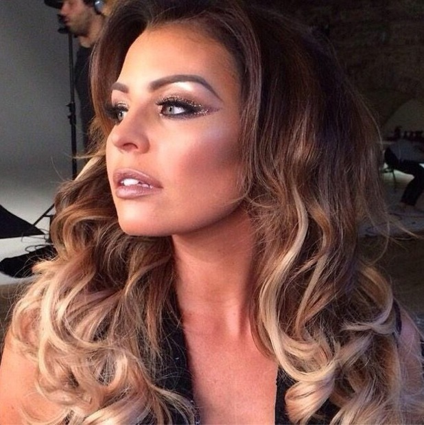 TOWIE's Jessica Wright flaunts bronze glittery make-up look - 2 October 2014
