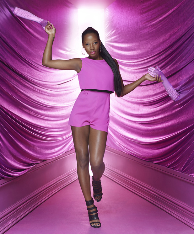 Jamelia fronts Asda's 'Lend A Hand' Tickled Pink campaign ahead of Breast Cancer Awareness Month 2014