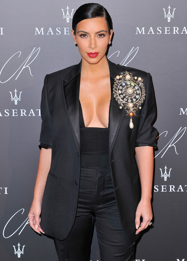 Kim Kardashian: CR Fashion Book Issue No.5 : Launch Party Hosted by Carine Roitfeld And Stephen Gan - 30 Sep 2014