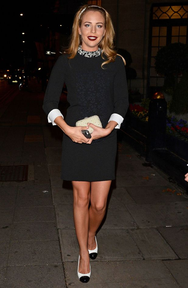 Lydia Bright attends the Breast Cancer Care party in London, England - 1 October 2014