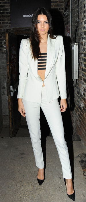 Kendall Jenner at Interview Magazine Photographer's Issue party at The Hills, New York, America - 09 Sep 2014
