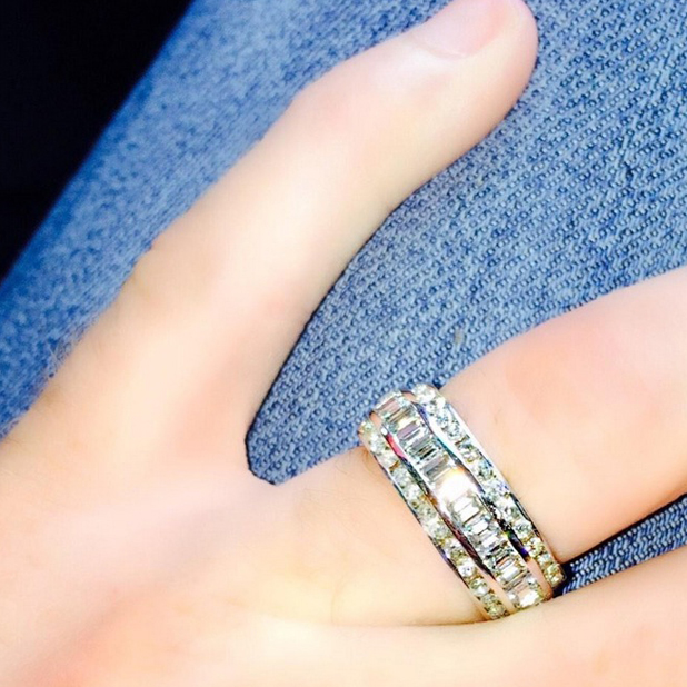 Rylan Clark shares picture of his engagement ring, 30 September 2014