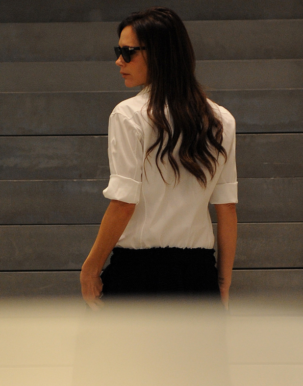Victoria Beckham at her Flagship store in London, Britain - 29 Sep 2014