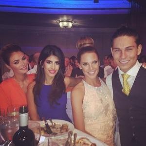 Danielle Lloyd, Joey Essex, Chloe Sims and Jasmin Walia, Pride of Britain Awards held at Grosvenor House Hotel, 6 October 2014