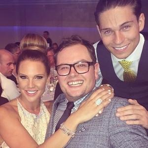 Danielle Lloyd, Joey Essex, Alan Carr, Pride of Britain Awards held at Grosvenor House Hotel, 6 October 2014