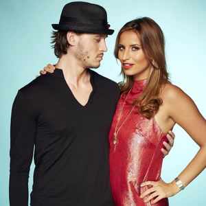 The Only Way Is Essex on ITVBe - Charlie Sims & Ferne McCann promo pic - October 2014.