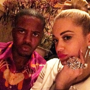 TOWIE's Vas J Morgan enjoys dinner celebration with Rita Ora  - 8 October.