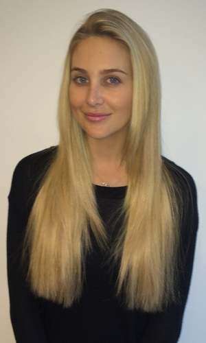 Stephanie Pratt gets new Easilocks hair extensions (after picture) - October 2014