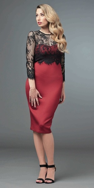 Stacey Solomon models the autumn/winter '14 collection by Look Again - October 2014