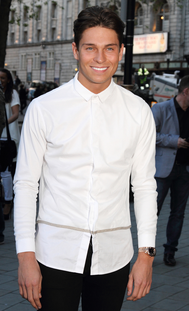 Joey Essex attends the Stealing Banksy launch party held at ME London - 24 April 2014
