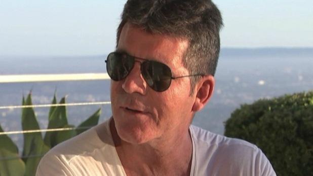 Simon Cowell appears on ITV's Lorraine 6 October