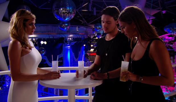 The Only Way is Ibiza: Chloe Sims comes face-to-face with Ferne McCann. Episode airs: Wednesday 8 October.