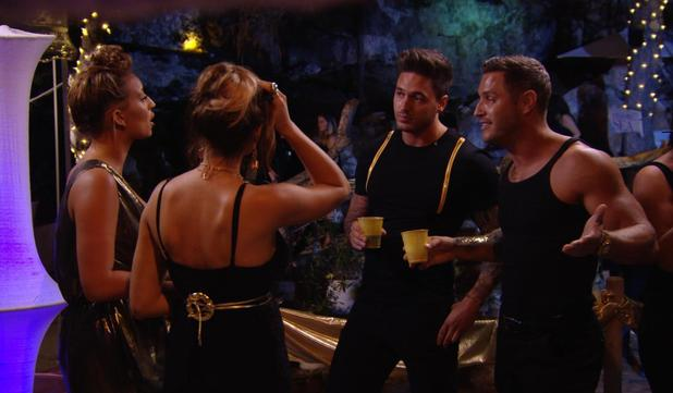 TOWIE - Ferne and Elliott argue in a club. Episode airs: Sunday 12 October.