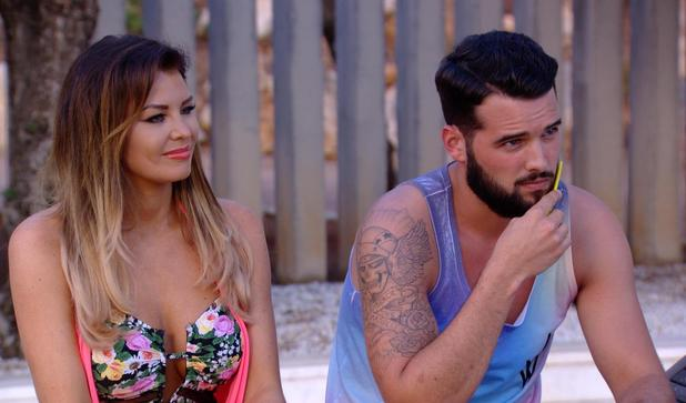 The Only Way is Ibiza: Ricky Rayment uses his beard comb. Episode airs: Wednesday 8 October.