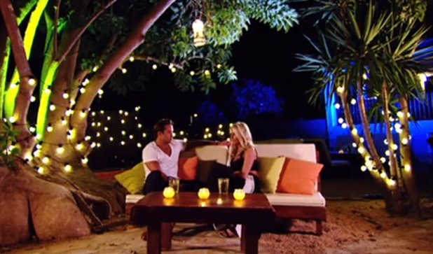 James Lock and Danielle Armstrong break down as she speaks of miscarriage - 8 October 2014