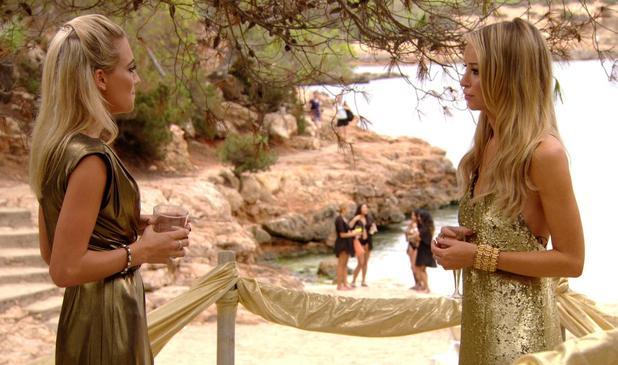 TOWIE - George confronts Lauren over Lewis Bloor in Ibiza. Episode airs: Sunday 12 October.