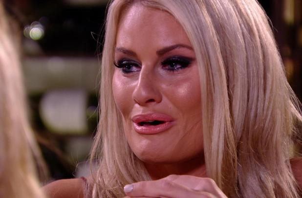The Only Way is Ibiza: Danielle Armstrong cries over her relationship with James Lock. Episode airs: Wednesday 8 October.
