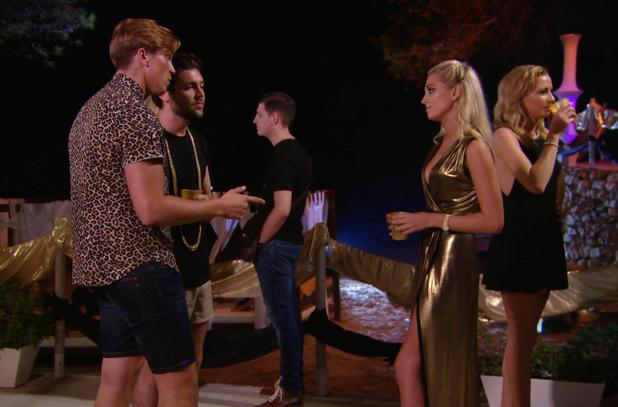 TOWIE - Lewis Bloor talks to George and Tom. Episode airs: Sunday 12 October.