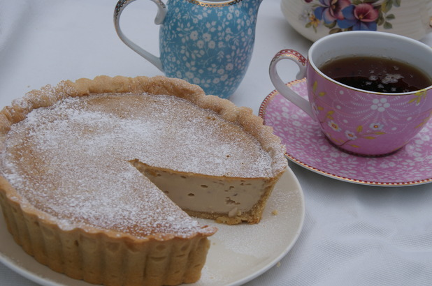 Ruth Clemens' Earl Grey custard tart
