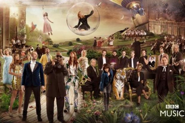 Pharrell Williams appears in BBC Music's 'God Only Knows' single - 8 October 2014