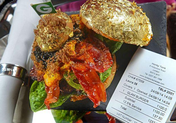 """""""Glam Burger"""" at Honky Tonk"""