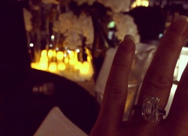 Luisa Zissman shows off huge engagement ring after agreeing to marry boyfriend, 10 October 2014